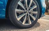 6 Renault Megane E Tech PHEV road test 2021 alloy wheels