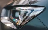 Seat Leon eHybrid 2020 road test review - headlight details