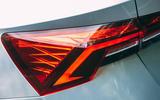 Skoda Octavia Estate 2020 road test review - rear lights