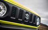Suzuki Jimny 2018 road test review - bonnet badge