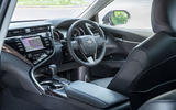Toyota Camry 2019 review - cabin