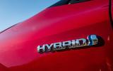 Toyota Corolla hybrid hatchback 2019 road test review - hybrid badge