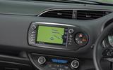 Toyota Yaris GRMN sat-nav