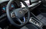 Volkswagen Golf GTE 2020 road test review - steering wheel