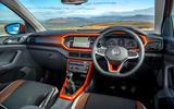 Volkswagen T-Cross 2019 review - dashboard