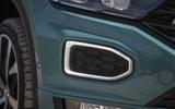 Volkswagen T-Roc Cabriolet 2020 road test review - front bumper
