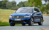 Volkswagen Tiguan R road test review - on the road front