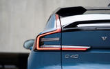 6 Volvo C40 Recharge 2021 first drive review rear lights