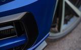 Volkswagen Golf R 2019 road test review - front bumper
