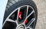 Volkswagen Up GTI 2018 review brake calipers
