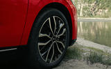 6 Xpeng P5 2021 first drive review alloy wheels