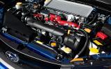 2.5-litre Subaru Impreza WRX STI engine