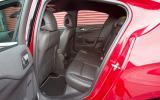 Citroën DS4 rear seats