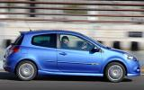 Renault Clio GT 128 side profile
