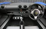 Lotus Exige S dashboard