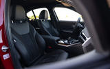 Alpina B3 2020 road test review - cabin