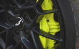 Aston Martin Rapide AMR 2019 first drive review - brake calipers