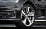Audi A8 60 TFSIe 2020 road test review - alloy wheels