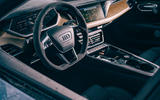 7 audi e tron gt 2021 lhd uk first drive review dashboard