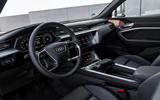 Audi E-tron Sportback 2020 road test review - cabin