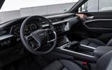 Audi E-tron Sportback 2020 road test review - cabin