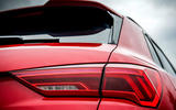 Audi RS Q3 2020 road test review - rear lights