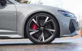 Audi RS6 Avant 2020 road test review - alloy wheels