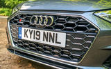 Audi S4 TDI 2019 road test review - front grille
