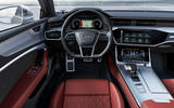 Audi S7 Sportback TDI 2020 road test review - steering wheel