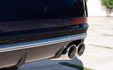 Audi S8 2020 road test review - exhausts