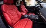 Audi SQ5 TDI 2020 road test review - cabin