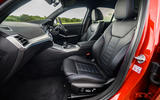 BMW 3 Series 330e 2020 road test review - cabin