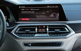 BMW X5 M Competition 2020 road test review - infotainment
