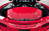 Corvette Stingray C8 2019 road test review - roof storage