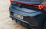 7 Cupra Born 2021 first drive review rear bumper