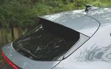 Cupra Leon 2020 road test review - rear spoiler