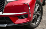 DS 7 Crossback 2018 road test review front aero