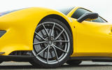 Ferrari 488 Pista 2019 road test review - alloy wheels
