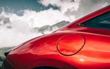 Ferrari Roma 2020 road test review - rear arch