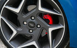 Ford Fiesta ST 2018 road test review brake calipers