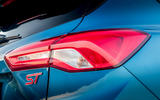 Ford Focus ST 2019 review - rear lights