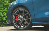 Ford Focus ST 2019 road test - alloy wheels