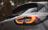 Ford Puma 2020 road test review - rear lights