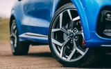 7 Ford Puma ST 2021 road test review alloy wheels