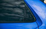 Honda e 2020 road test review - rear door handle