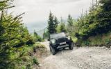 7 Ineos Grenadier 2021 prototype drive gravel front