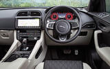 Jaguar F-Pace SVR 2019 road test review - dashboard