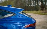 Jaguar E-Pace review back end