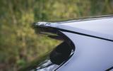 Jaguar XF Sportbrake 2019 road test review - spoiler