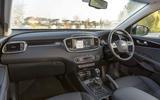 Kia Sorento 2018 road test review cabin